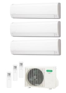 CONDIZIONATORE GENERAL FUJITSU LLC TRIAL 9000 + 9000 + 12000 VENDITA A ROMA www.idrosar.com climatizzatori ingrosso a roma