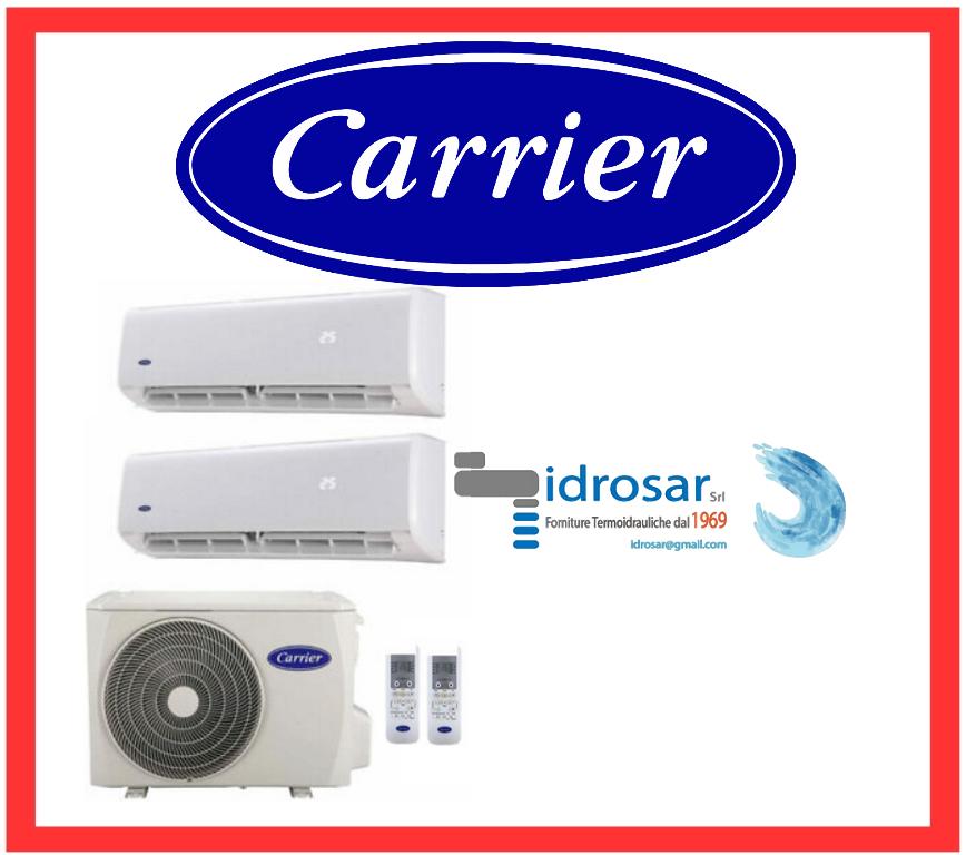 climatizzatore carrier dual split a roma