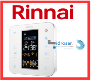 cronotermostato digitale rinnai smart wi fi